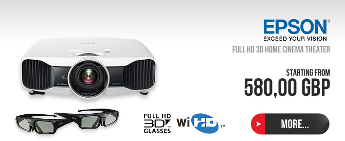 Epson - FULL HD 3D Home cinema theater